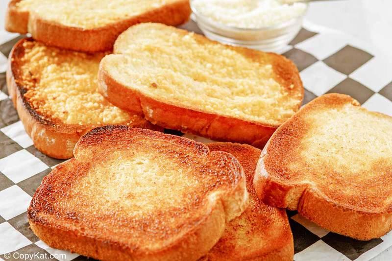 slices of toasted texas toast