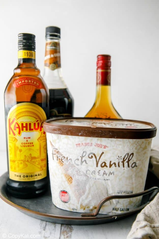 Brandy Alexander ingredients
