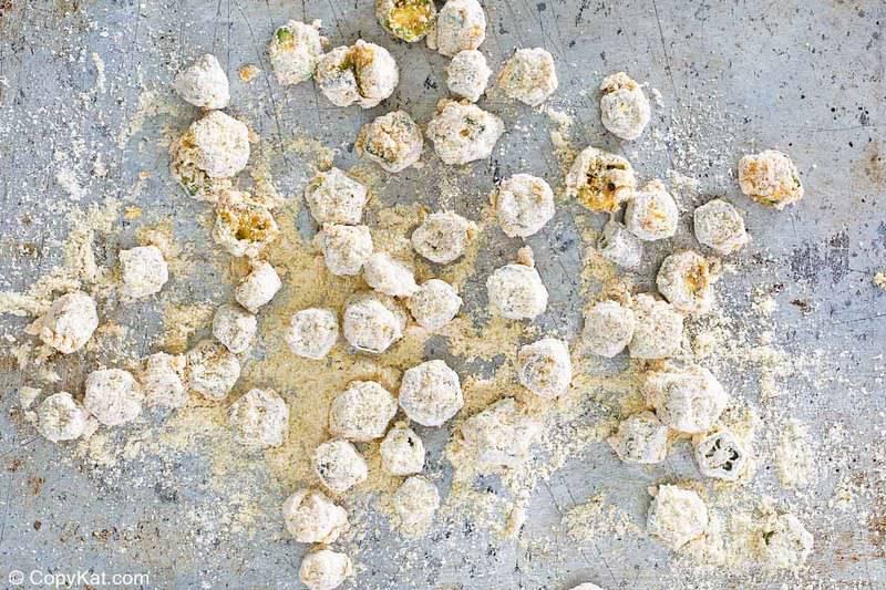 cornmeal breaded okra