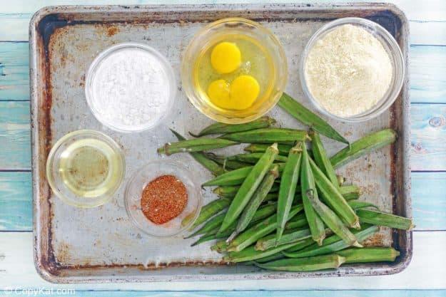 fried okra ingredients