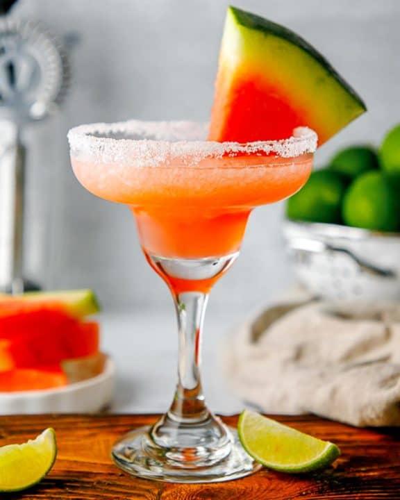 homemade Olive Garden Watermelon Margarita