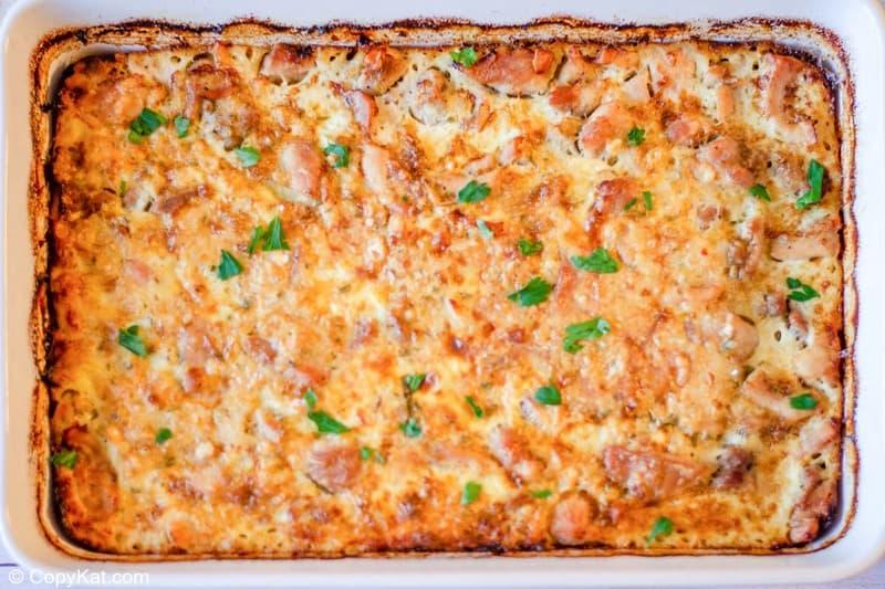 baked chicken tarragon casserole