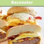 a breakfast sandwich like Wendy's Baconator