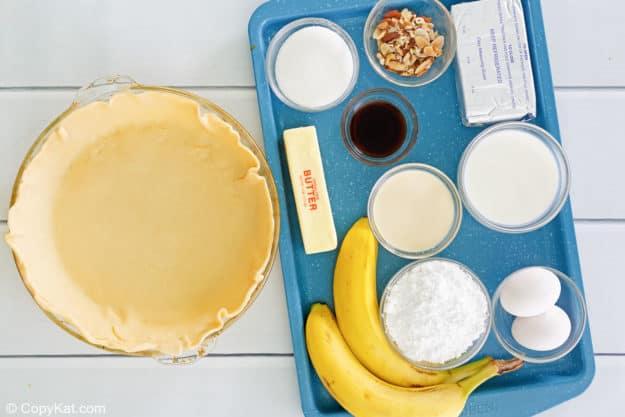 Marie Callender's banana cream pie ingredients