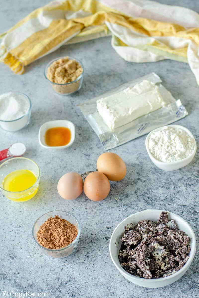 Oreo brownies ingredients