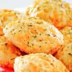 homemade Red Lobster Cheddar Bay Biscuits in a basket