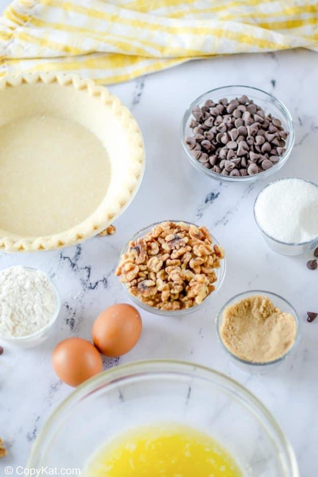 Toll House pie ingredients